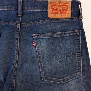 Levi's 513 Jeans Slim Straight Mid Wash 31x32